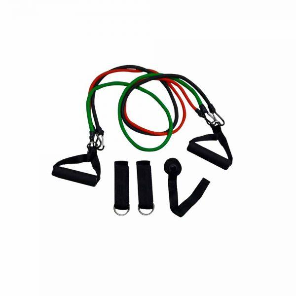 Ligas con Manubrios (Verde, Negro, Rojo)